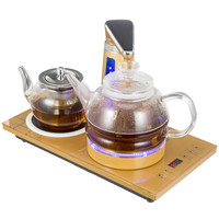 Electric kettle Automatic upper water electric glass tea set Overheat Protection