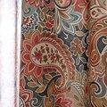 Затемненные шторы в американском стиле с цветами для спальни  роскошная Красивая занавеска из поли хлопка для девочек  винтажная оконная за...