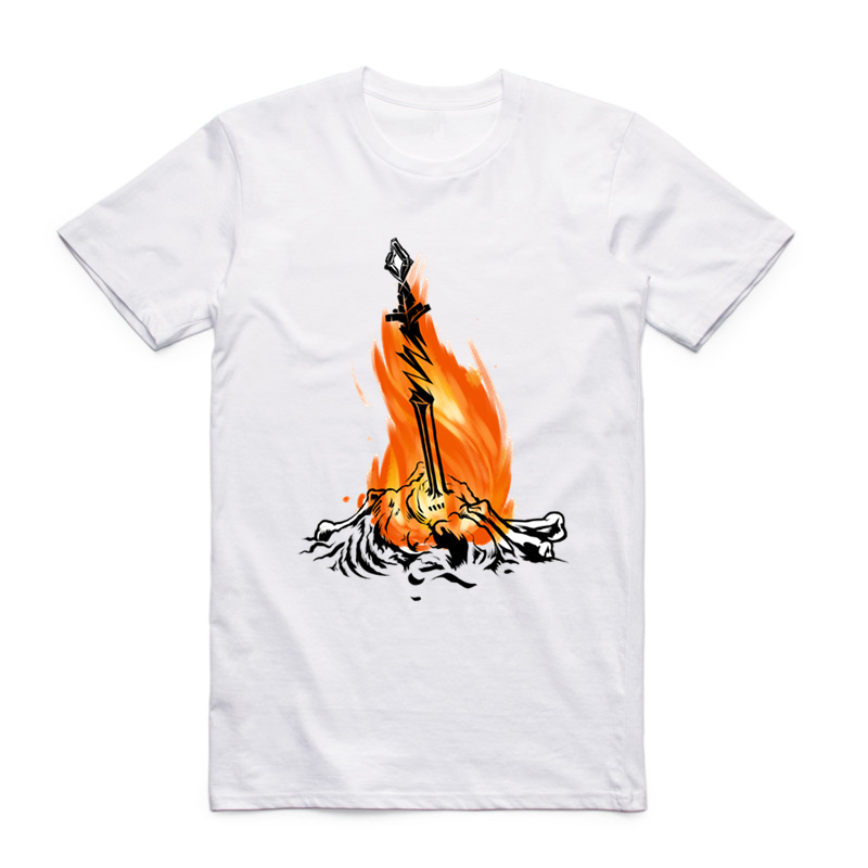 S-XXXL Camiseta Dark Souls para hombre friki Camiseta de manga corta - Ropa de hombre