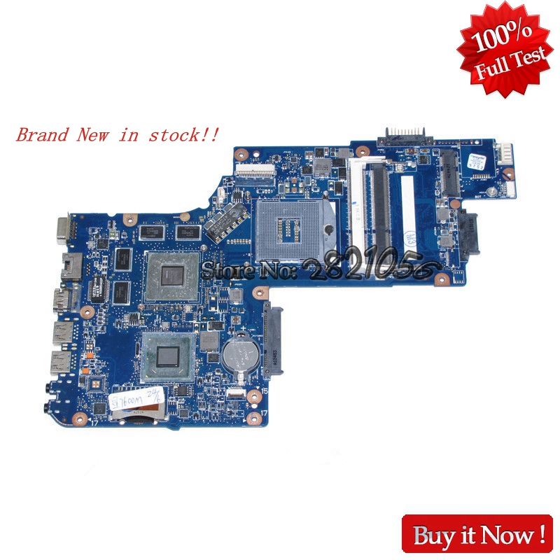 NOKOTION laptop motherboard For Toshiba Satellite C850 L850 15.6 inch screen H000052750 H000052580 Main board hd 7610M DDR3 h000052740 main board for toshiba satellite l850 c850 laptop motherboard 15 6 inch hm70 gma hd ddr3 free cpu