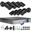 DEFEWAY 720 P HD 1200TVL Outdoor Bewakingscamera HDMI Cctv-systeem Video Surveillance 8CH 1 TB HDD AHD online camera Set