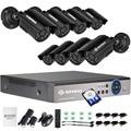 DEFEWAY 720P HD 1200TVL Outdoor Security Camera System HDMI CCTV System Video Surveillance 8CH 1TB HDD AHD online Camera Set