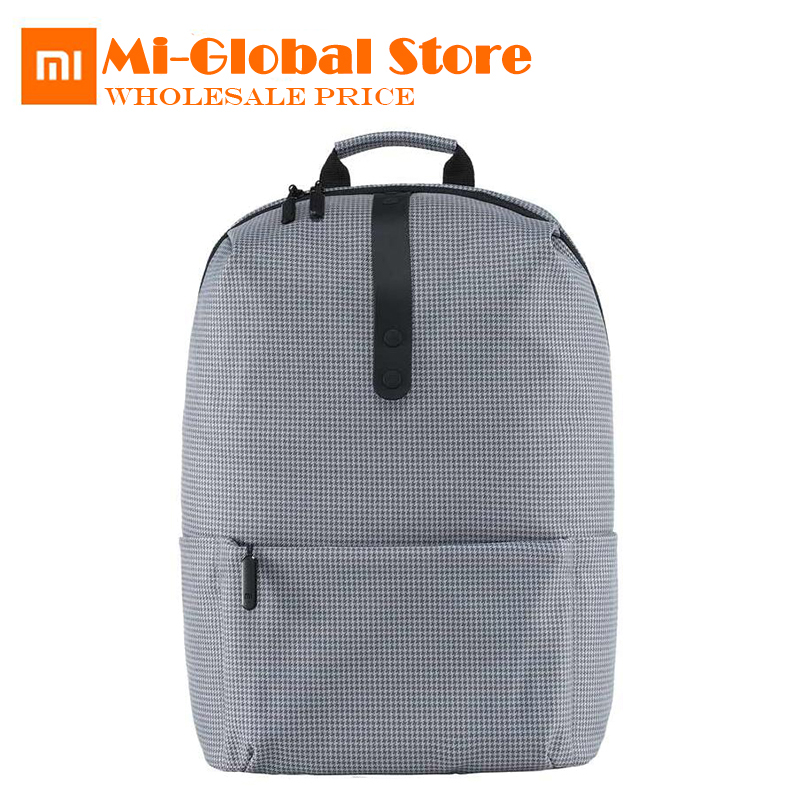 Xiaomi Fashion School Bag Backapck 600D Polyester Durable Waterproof Outdoor Suit For 15 6 Inch Laptop