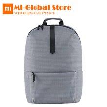 Xiaomi моды школьная сумка backapck 600D полиэстер прочный Водонепроницаемый открытый костюм для 15.6 дюймов ноутбук Новинка 2017