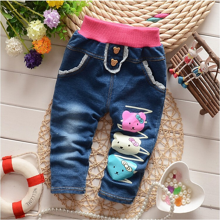 f69badccfbcd2 BibiCola Spring Autumn baby girls thick winter warm trousers cashmere kids  jeans girls baby boys jeans children pants retail-in Jeans from Mother &  Kids on ...