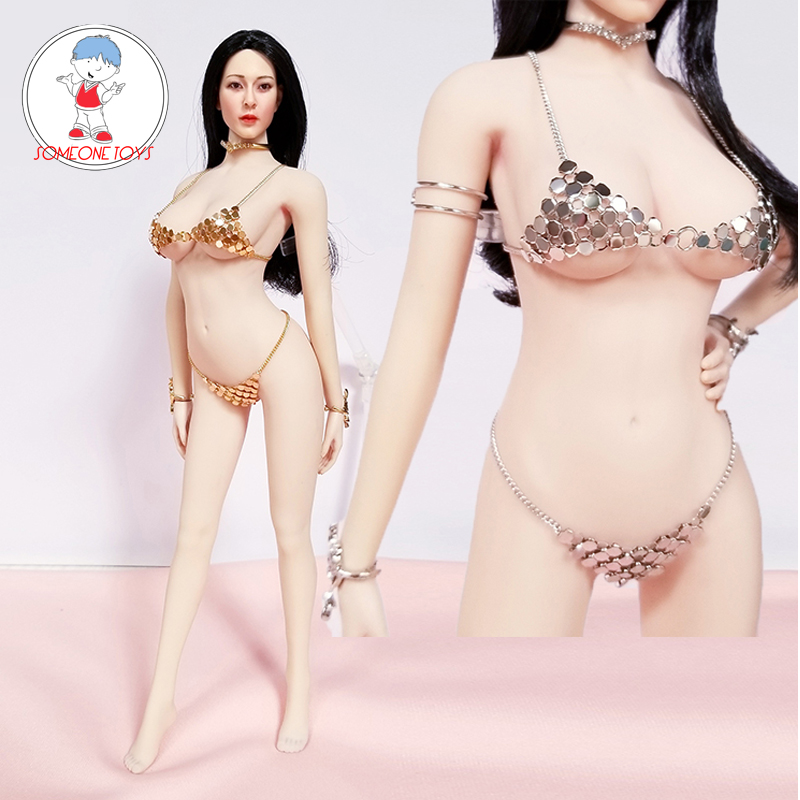 1/6 Scale Female Clothes Sexy Bra Underwear Bikini Set for 12 inches Large/Medium Breast Action Figure Dolls image