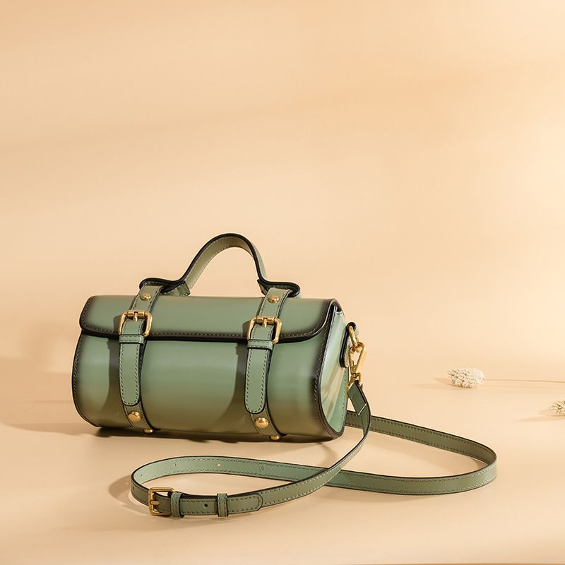 LOEIL New Messenger Bag Leather Retro Shoulder Bag Trend Portable Messenger Bag Leather Female Bag Pouch bag woodland leather bag