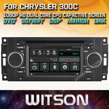 WITSON цена завода!! автомобильный dvd для CHRYSLER 300C TP Cruiser DODGE Ram JEEP Grand Cherokee Компас Патриот + DSP + TPMS + DVR + 3 Г WI-FI