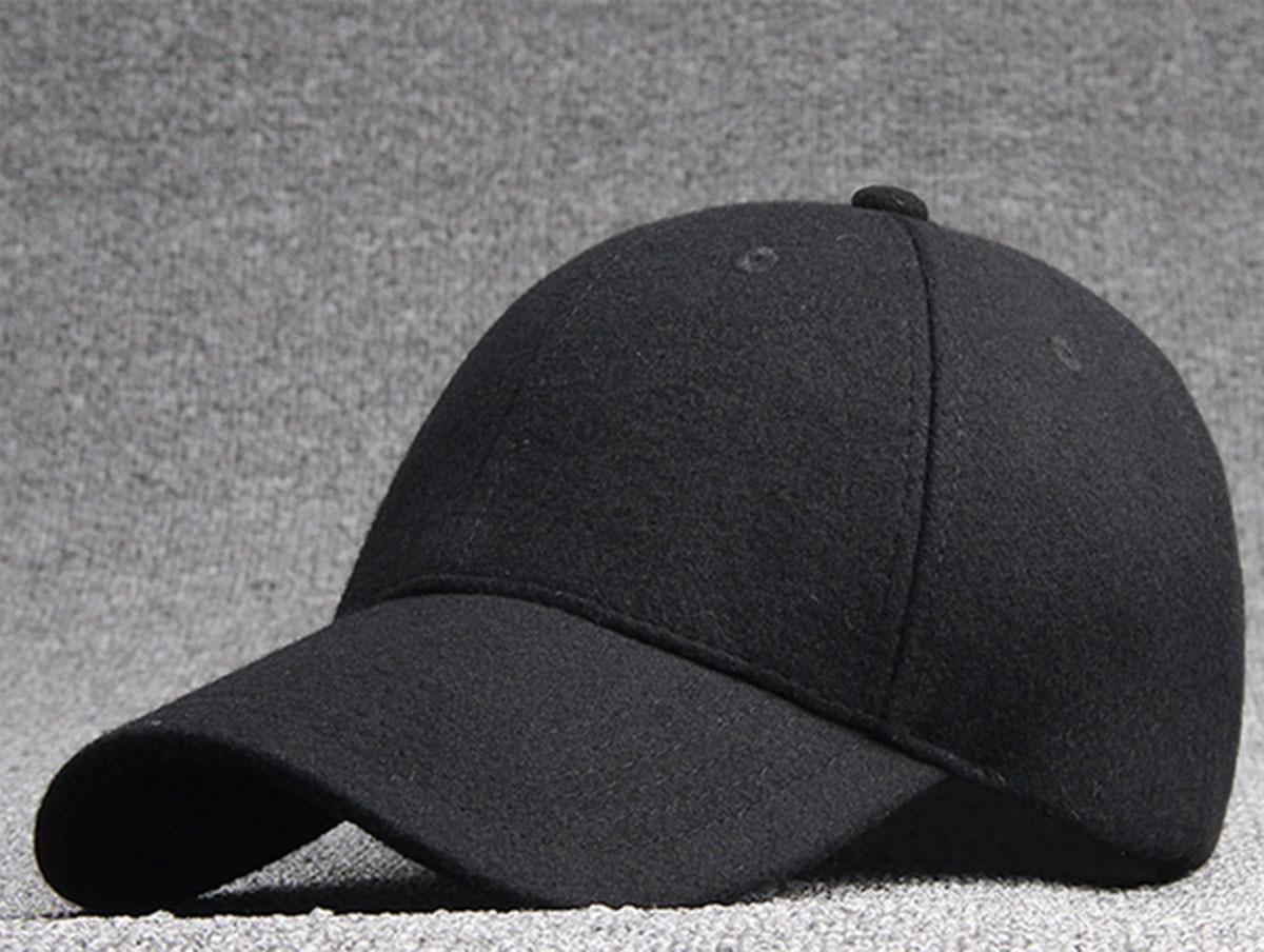 085e08f508891 Bulk Hats 25pcs Black Wool Felt Baseball Hat for Winter 2017 NEW Womens  Plain Grey Base Ball Cap Men Blank Strap Back Ball Caps