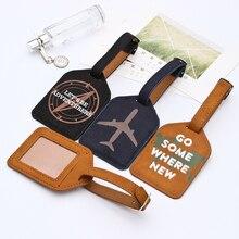 Zoukane кожаная бирка для чемодана, Сумка с подвеской, сумка, портативные аксессуары для путешествий, ярлыки для ID адреса LT02