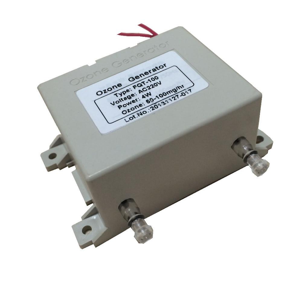 Mini Humidifier Ozone Generator Part FQT-100 Water Filter Purifier 50-100mg/hr portable ozone generatir water filter air purifier dc12 ozone genrator fqt 100