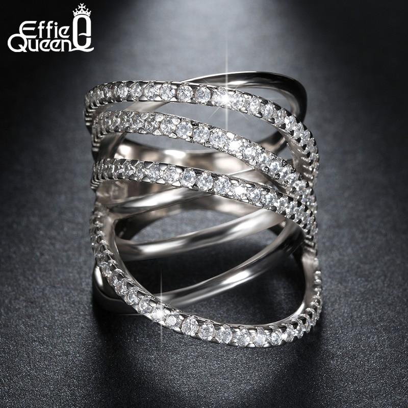 Effie Queen más nuevo diseño de joyería de moda brillante CZ - Bisutería - foto 4