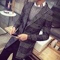 В осень Зима утолщение хан издание развивать нравственность мужская ветровка Ржанка случае ткань пальто мода пальто