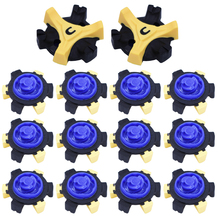 official photos 14879 20dc2 14 pcs TPR Golf Shoe Spikes Replacement Champ Cleat Fast Twist Screw Studs  Stinger Golf Accessories