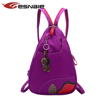 Новый женский рюкзак молодежный нейлон рюкзаки для девочек-подростков груди пакет Высокое качество Женская сумка рюкзак Mochila SAC DOS