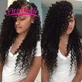 Aliexpress Products 7a Maxglam Hair Brazilian Deep Curly With Closure 4 Bundles Deep Wave Brazilian Hair With Closure