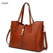 2018 new leather solid color handbag fashion shoulder Messenger bag simple wild dumplings bag large-capacity female bag недорого