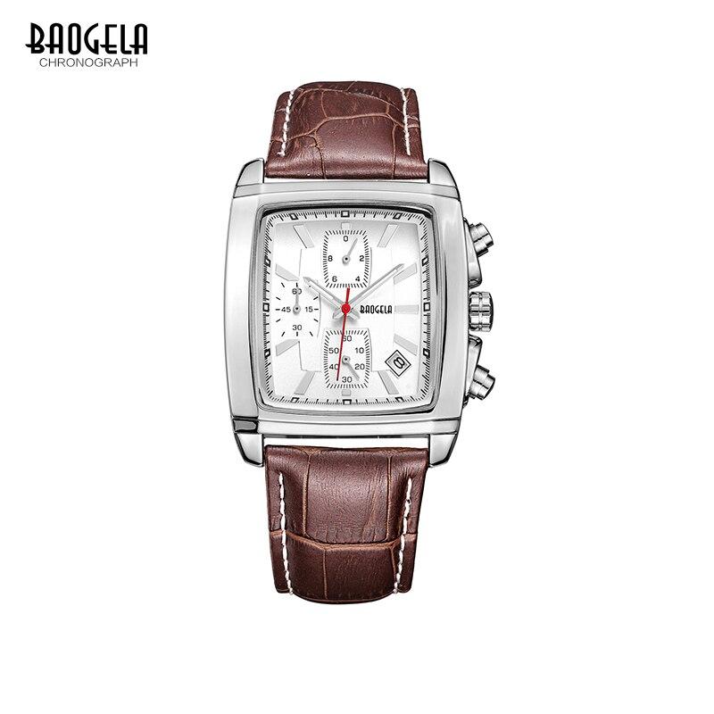Baogela Mens Chronograph horloge Lichtgevende waterdichte quartz - Herenhorloges - Foto 6