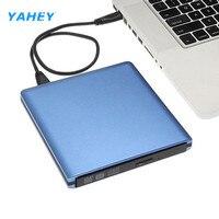 USB 3 0 DVD Burner External Optical Drive Player CD DVD RW Writer Reader Recorder For