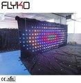P20 2x5 m china lieferanten veranstaltung led licht led vorhang dj booth diy led vorhang led video vorhang
