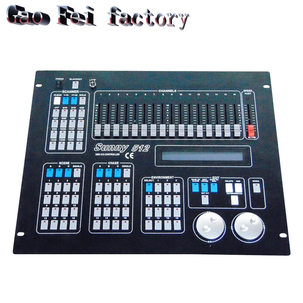 1pcs DMX Console DMX 512 DJ equipment for Stage Lighting Wireless controller