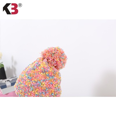 Double Sided Cuffed Ball Top Winter Knit Hat Established Ball Top Winter Knit Hat (2)