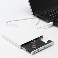 External Slim USB 2.0 External CD-RW/DVD-RW Burner Drive CD DVD ROM Combo Writer for Mac Laptop Netbook FW1S