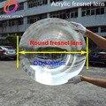 Фокусное расстояние 300 мм Диаметр линзы Френеля 600 мм большой размер круглая линза Френеля толщина 3 мм круглые линзы для солнечных батарей Б...