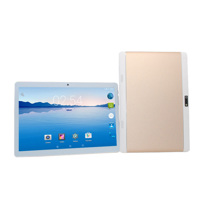 10.1 Polegada 3G 4G LTE Tablet PC Android 6.0 Quad Core 16 1GB de RAM GB ROM IPS GPS MTK6735