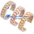 Нержавеющая сталь Ремешок Для Часов Наручные Часы ремешок металлический ремешок butterfly пряжки золото розовое золото ширина 18 мм 20 мм 21 мм 22 мм