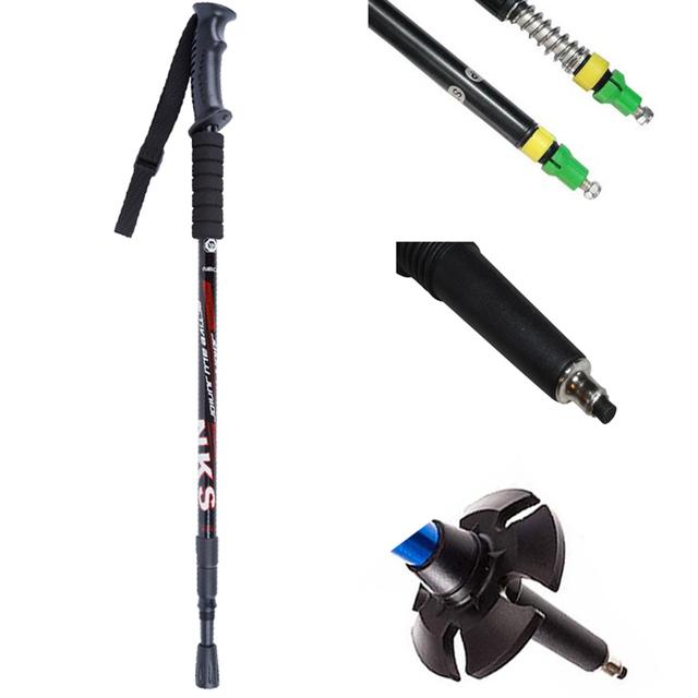 Anti Shock Nordic Walking Sticks 2Pcs