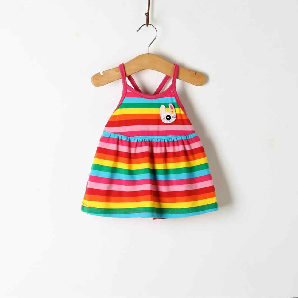 b7a7767c82e52 ... Children's Wear 2018 New Baby Dresses Pattern Print Lemon Cartoon Birthday  Dress Female Baby Summer Clothes ...
