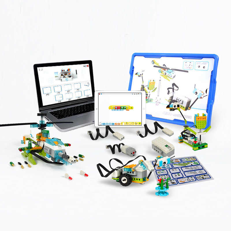Technic Compatible wit Wedo 2.0 Educational Functions DIY Parts 45300  WeDo 3.0 Set-Building Blocks