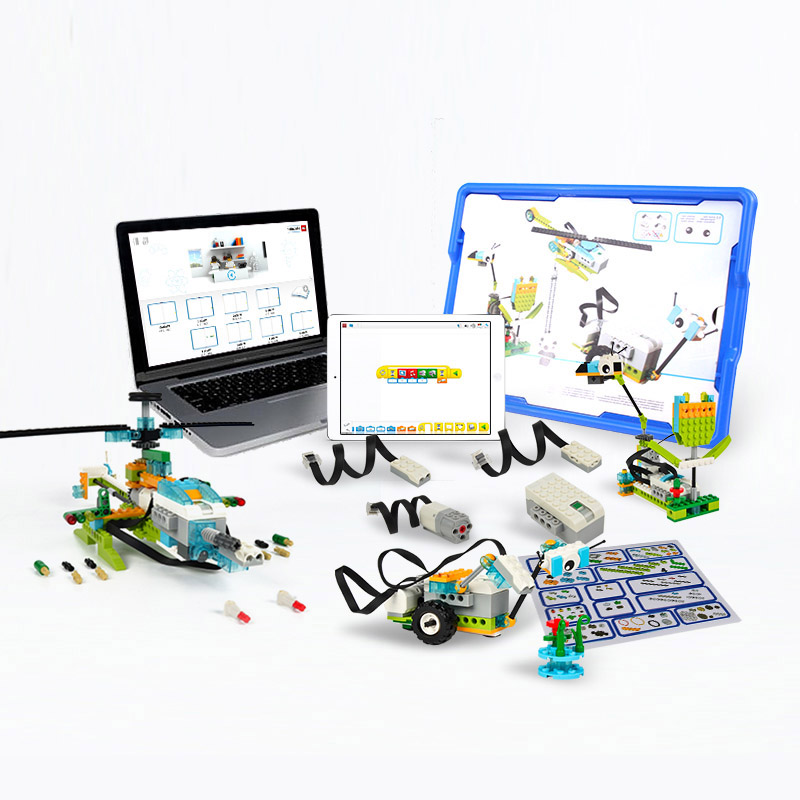 Technic Compatible Wit Legoes Wedo 2.0 Educational Functions DIY Parts 45300  WeDo 3.0 Set-Building Blocks