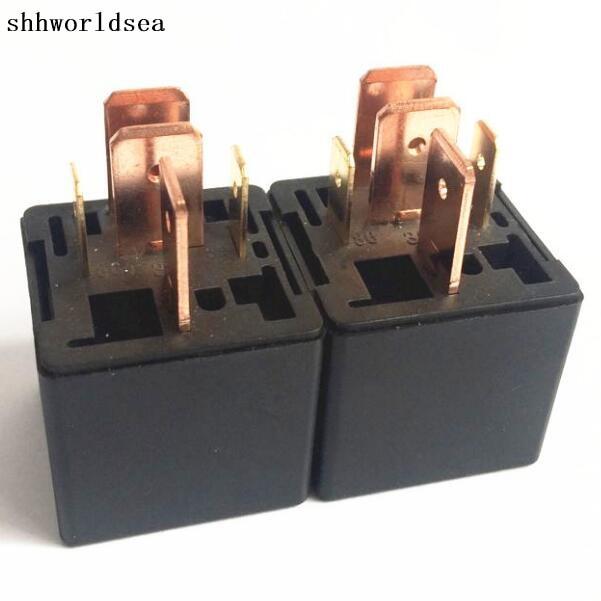 Shhworldsea 1pcs 5pcs 30pcs 12v 5 Pin Automotive Relay 80a