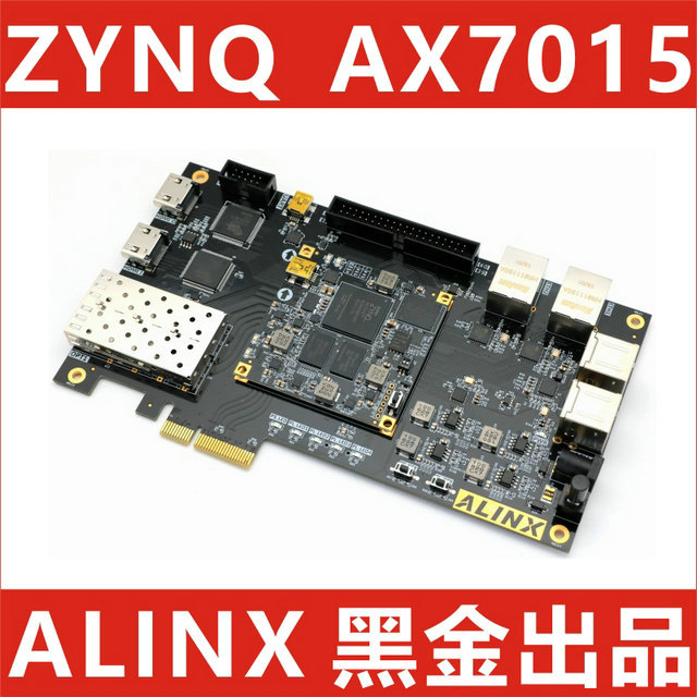 US $510 0 |Alinx XILINX FPGA Black Gold Development Board ZYNQ ARM 7015  PCIE HDMI zedboard ax7015-in Cable Winder from Consumer Electronics on