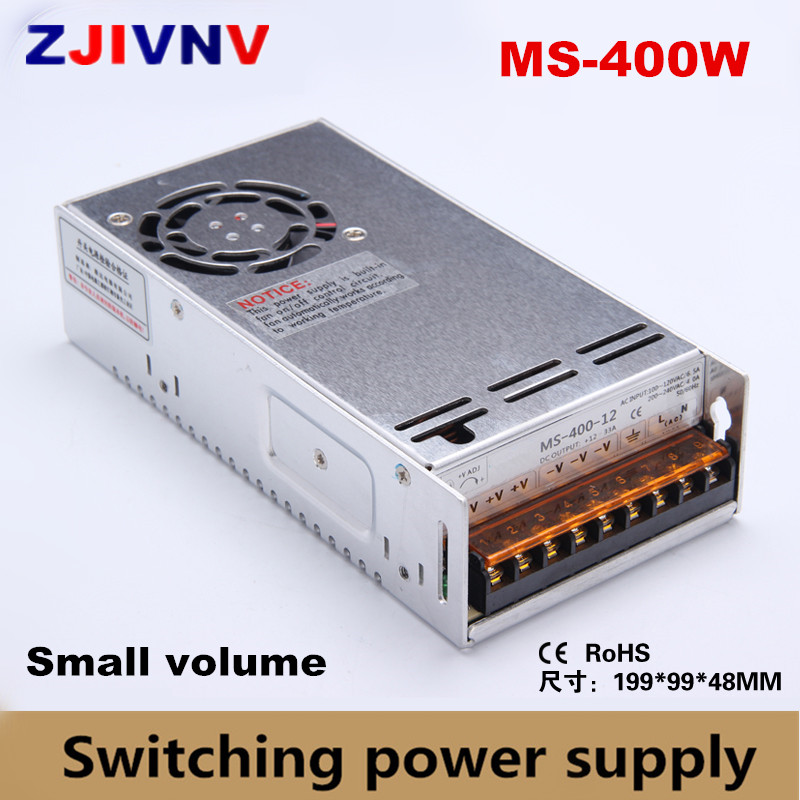 high quality 400W 24V 16A single output Mini size Switching Power Supply small volume AC-DC smps 12v 33.3a, 15v 26.6v, single output high quality small volume switching power supply 48v dc 20w ms 20 48 0 4a metal case with ce