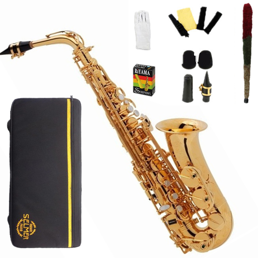 Japan Alto Saxophone YAS 275 Electrophoresis Gold Sax saxofone musical instruments professional Mouthpiece with case Hot sellJapan Alto Saxophone YAS 275 Electrophoresis Gold Sax saxofone musical instruments professional Mouthpiece with case Hot sell