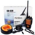 НОВЫЙ Портативной Рации CHIERDA CD-528 Портативный Двухстороннее Радио Пыле Водонепроницаемый IP66 UHF 16-КАНАЛЬНЫЙ 5 Вт Остановить Шум Монитор Срочно сигнализация