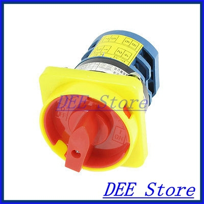 Ui 660V Ith 20A 2 Positions Rotary Cam Universal Combination Switch lw8 10 2 rotary handle universal cam changeover switch ui 660v ith 20a