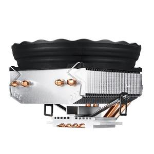 Image 3 - 인텔 lga 120/1155/1151/1150 amd 용 4 개의 히트 파이프 1366mm cpu 쿨러 led rgb 팬 양질 수평 cpu 쿨러