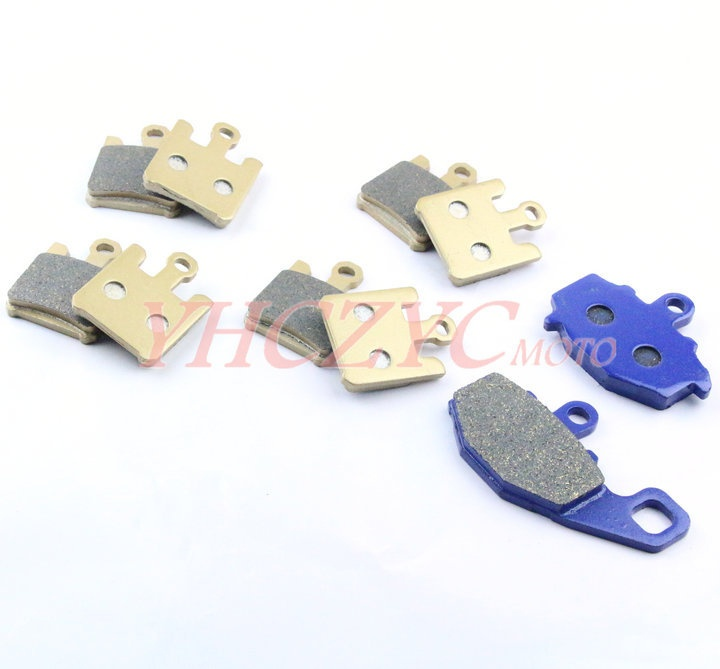 For KAWASAKI ZX6R ZX-6RR 2003-2006 motorcycle front and rear brake pads set Motorcycle Parts motorcycle parts front