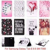 For Samsung Galaxy Tab E 9 6 T560 T561 SM T560 Case Cute Cartoon Dog Love