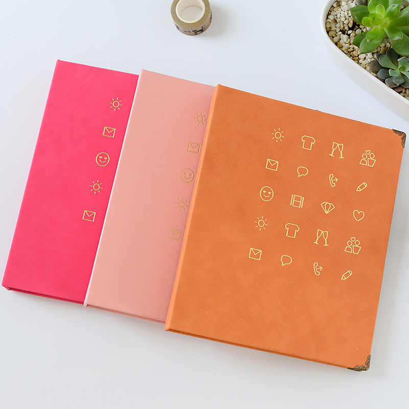 150 Pockets Mini Instax Wedding Baby Photo Album Holder Candy Color Book Style Album for 3 Inch Mini Fuji Film Instax Name Card