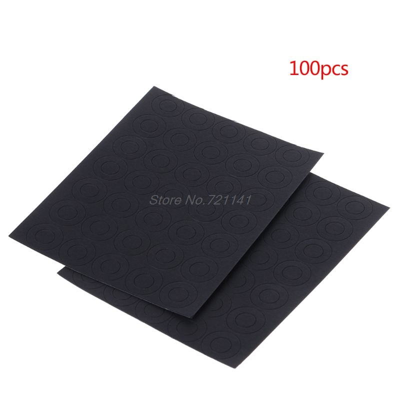 100PCS 18650 Lithium Batteries Anode Point Insulation Gasket Barley Paper Li-on Battery Pack Cell Insulating Glue Patch Pads MAR