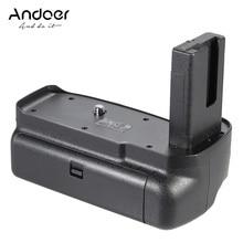 Andoer BG 2F אנכי מחזיק גריפ סוללה עבור ניקון D3100 D3200 D3300 DSLR מצלמה EN EL 14 סוללה