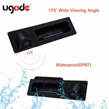 CCD HD Car Rear View Camera Night vision Trunk Release Backup For B-M-W 3/4/5 series X3 X4 X5 F30 F10 E70 stock free ship