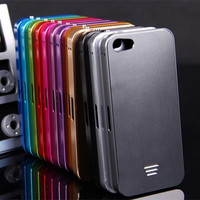 Luphie cho iphone 5c capa fundas nhôm khung hợp bìa cho apple iphone 5c nhôm trở lại che + hard hợp kim trường hợp