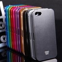 Luphie For IPhone 5C Capa Fundas Aluminum Frame Case Cover For Apple IPhone 5C Aluminum Back