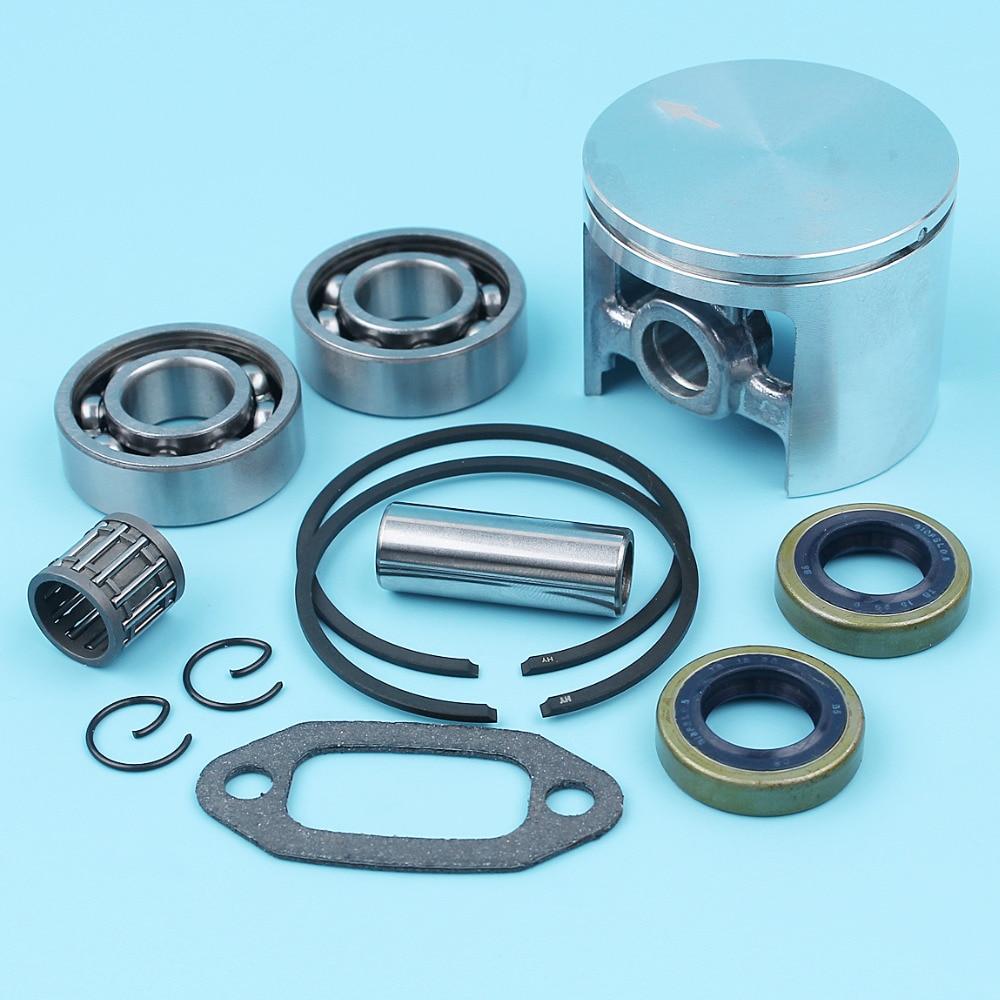 Crankshaft Piston Bearing Oil Seal Set For Husqvarna 268 272 61 66